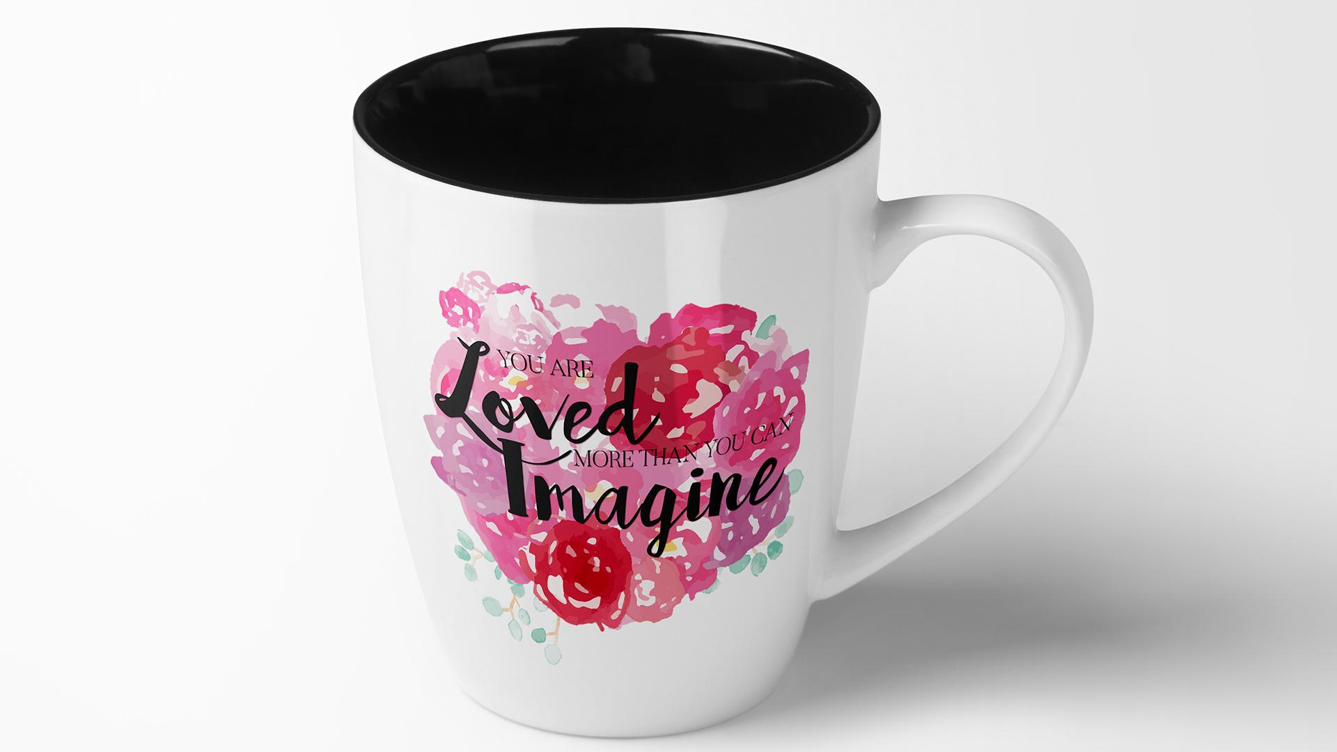 You are loved - Mug